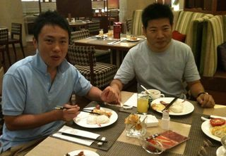 上海の朝食