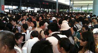 上海万博の入り口