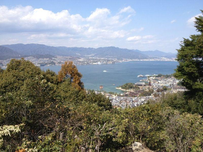 登山途中の景色1